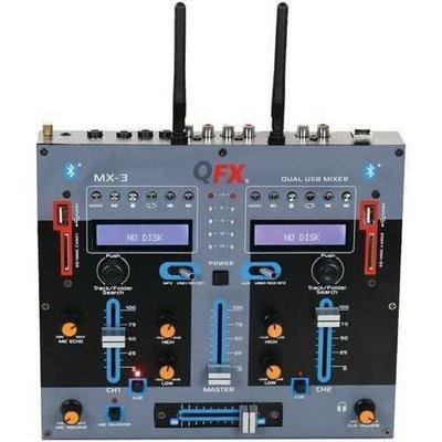Qfx 2-channel Mx-3 Professional Mixer QFXMX3