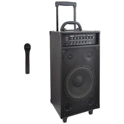 Pyle Pro(R) PWMA1050BT Wireless Portable Bluetooth(R) PA Speaker System