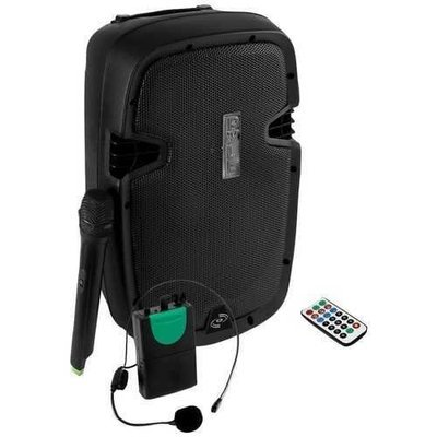 Pyle 1,000-watt Portable Active Bluetooth Speaker System PYRPPHP109WMU