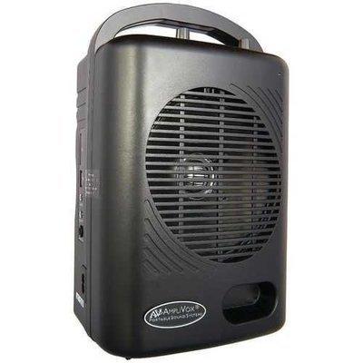 AmpliVox(R) SWB245 50-Watt Power Pod PA Media Package