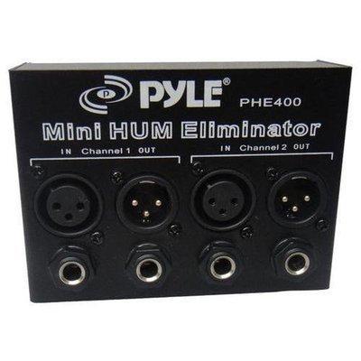 Hum/Noise Eliminator 2-Channel Box with XLR Jacks