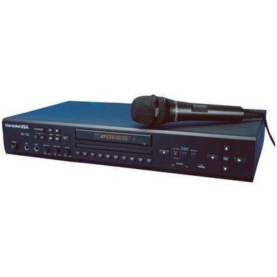 Karaoke USA(TM) DV102 DVD/CD+G/MP3+G Karaoke Player
