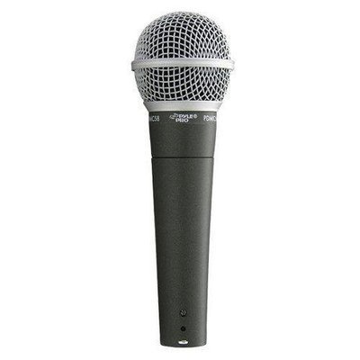 Professional Moving Coil Microphone, Dynamic Handheld Mic with 15 ft. XLR Cable