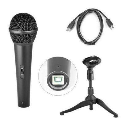Dynamic USB Microphone, Studio & Recording Mic