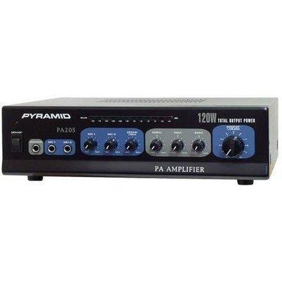 120 Watt Microphone PA Amplifier w/70V Output
