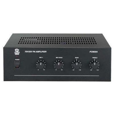 60 Watt Power Amplifier w/ 25 & 70 Volt Output