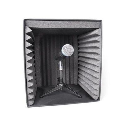 Sound Recording Booth Box, Studio Soundproofing Foam Shield Isolation Filter Cube