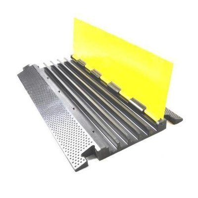 Multi-Channel Cable Protective Cover Ramp, Cord/Wire Concealment Protection Track