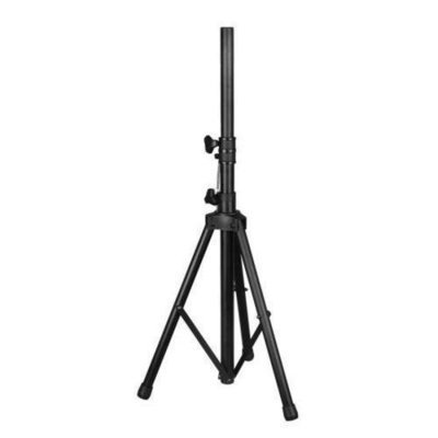 Tripod Speaker Stand Holder Mount, Extending Height Adjustable, Rugged Steel Construction
