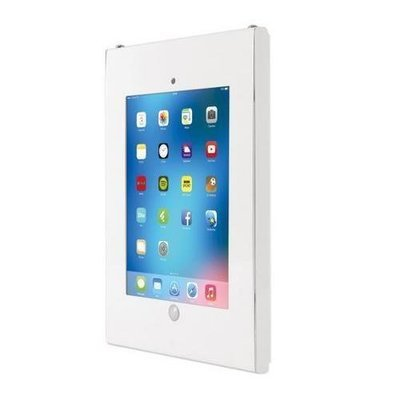 Security Anti-Theft iPad Wall Mount, Public Display Safe Lock & Secure Tablet Device Holder Case, (Works with iPad 2/3/4/iPad Air/iPad Air2)