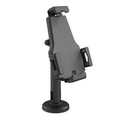 Universal Tamper-Proof Anti-Theft iPad Tablet Kiosk Stand Holder for Public Display with Cable Management, Fits Virtually All Tablets 7.9  10.1 Inches, Swivel, Rotation and Tilt Adjustable and Includ