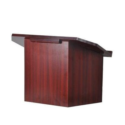 Portable Lectern Podium | Tabletop Presentation Stand | Quick Setup Folding Style