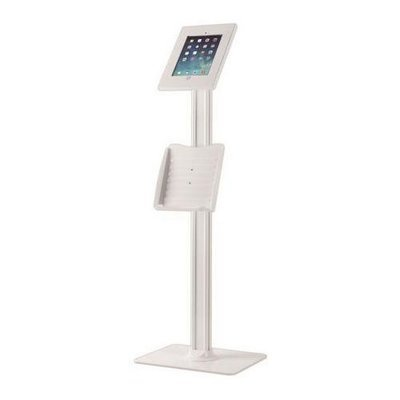 Security Anti-Theft Key & Lock iPad Stand, Public Display Safe & Secure Tablet Device Holder Mount, (Works with iPad 2/3/4/iPad Air/iPad Air 2)