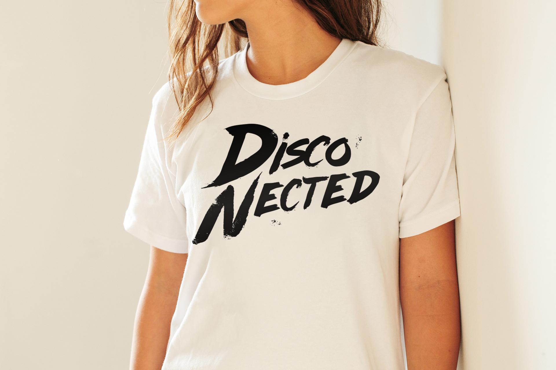 T-SHIRT DISCO-NECTED UNISEX