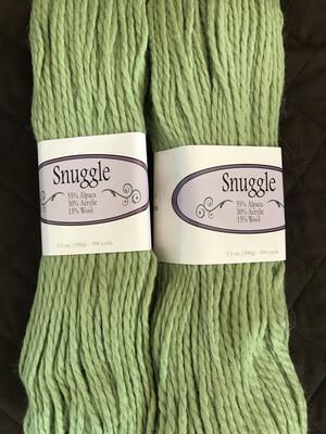 Alpaca Yarn - Snuggle - Spring Green