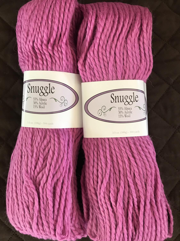 Alpaca Yarn - Snuggle - Rosey