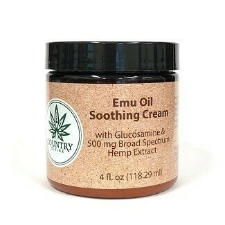 Emu Oil Soothing Cream with Hemp Extract