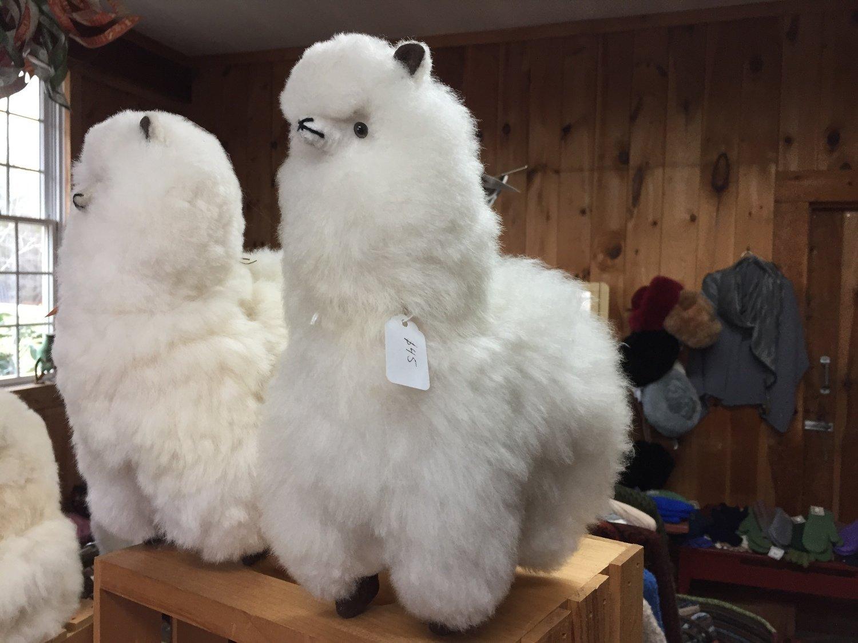 Stuffed toy alpaca - 12 inch tall