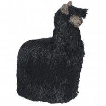 Hand felted alpaca fiber ornament - animals 4 inch tall