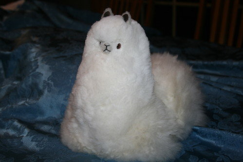 Cushed Stuffed Alpaca