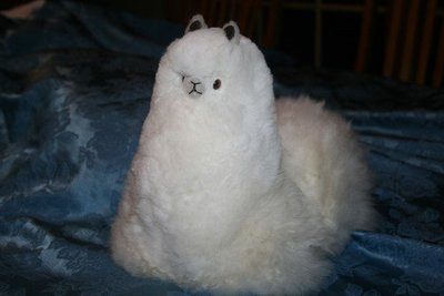 Cushed Stuffed Alpaca