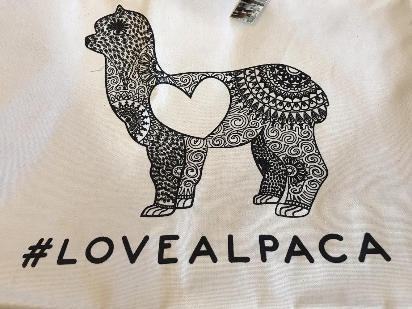 #lovealpaca Tote