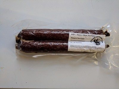 Smoked Pepperoni Sticks - Fully Cooked