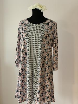 Grey/pink Summer Dress