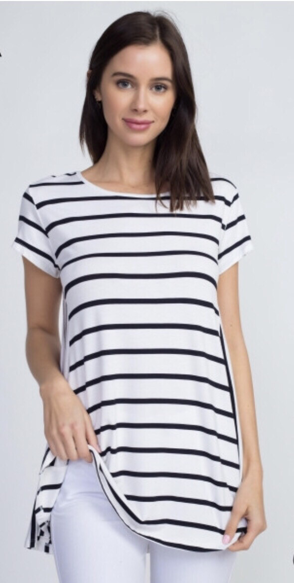 Mis-Matched Striped Top