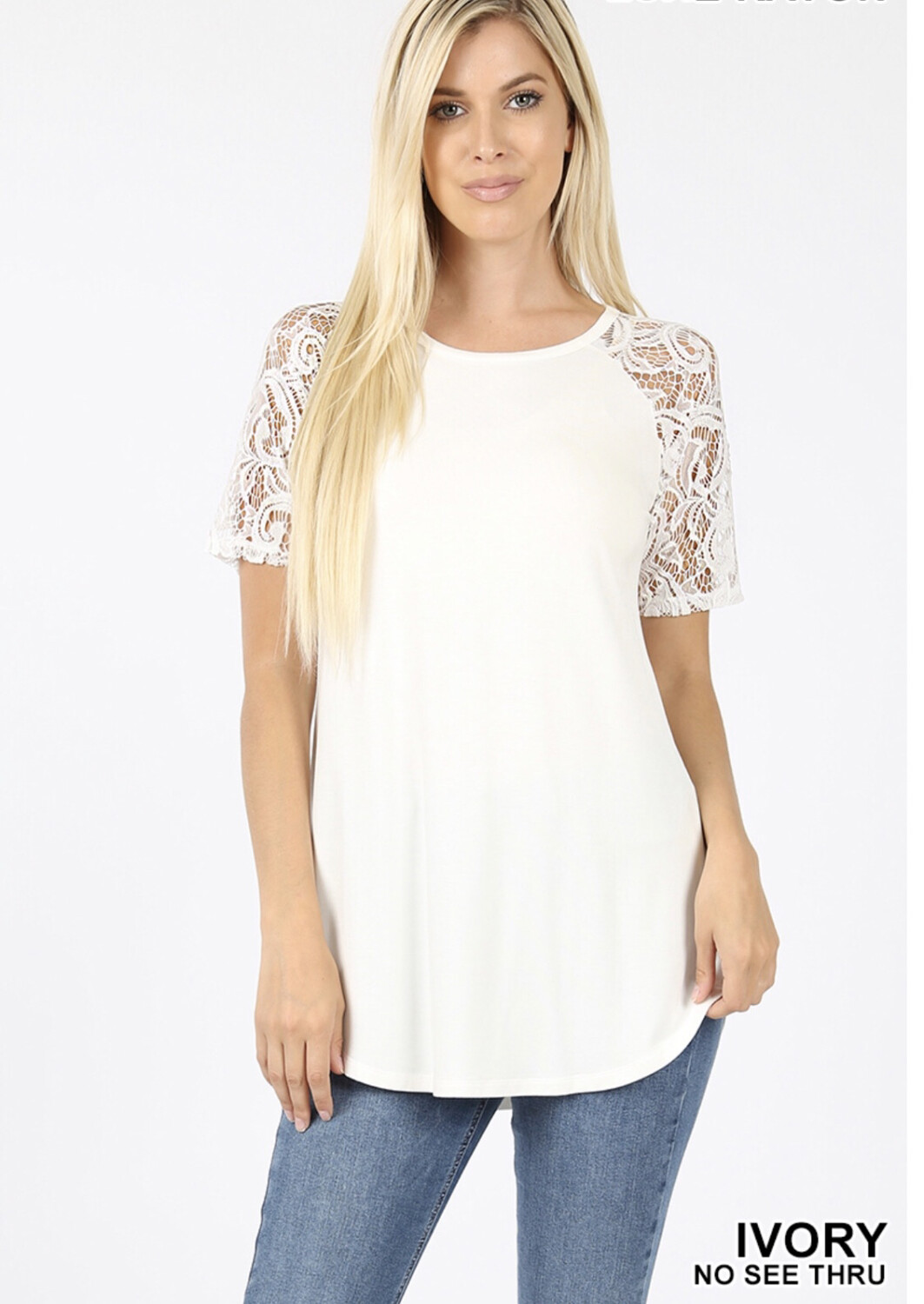 Lace Detailed Sleeve Shirt