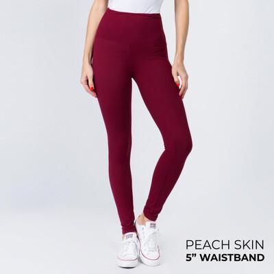 Peach Skin Leggings Regular