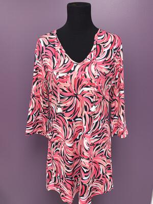 Rhonda Pink Tunic/Tunic Dress