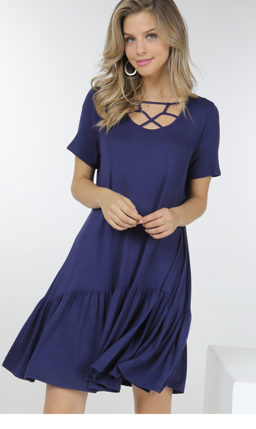 Front Detailed Dress