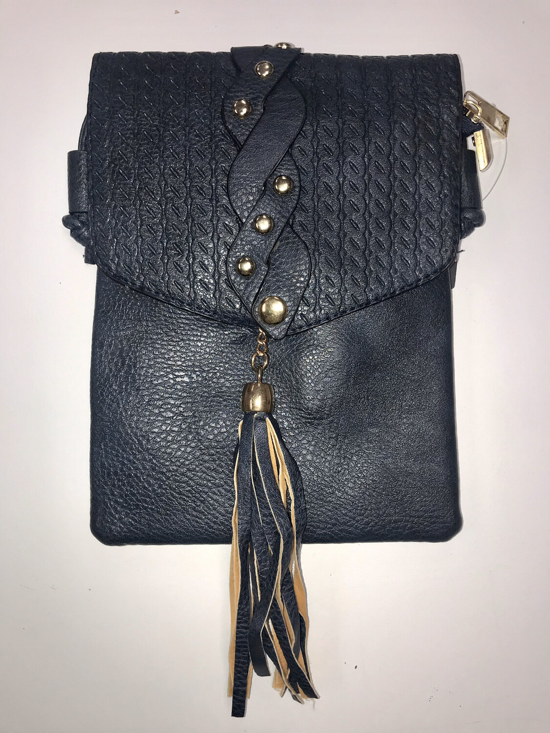 Braided/Tassel Crossbody Purse