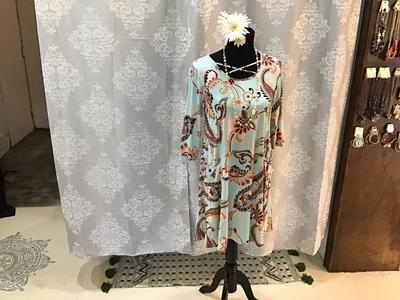 Paisley Pocket Dress
