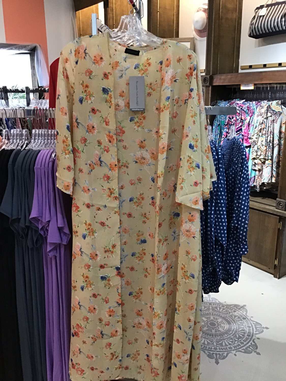 Flower kimono