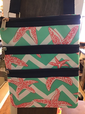 Starfish crossbody purse