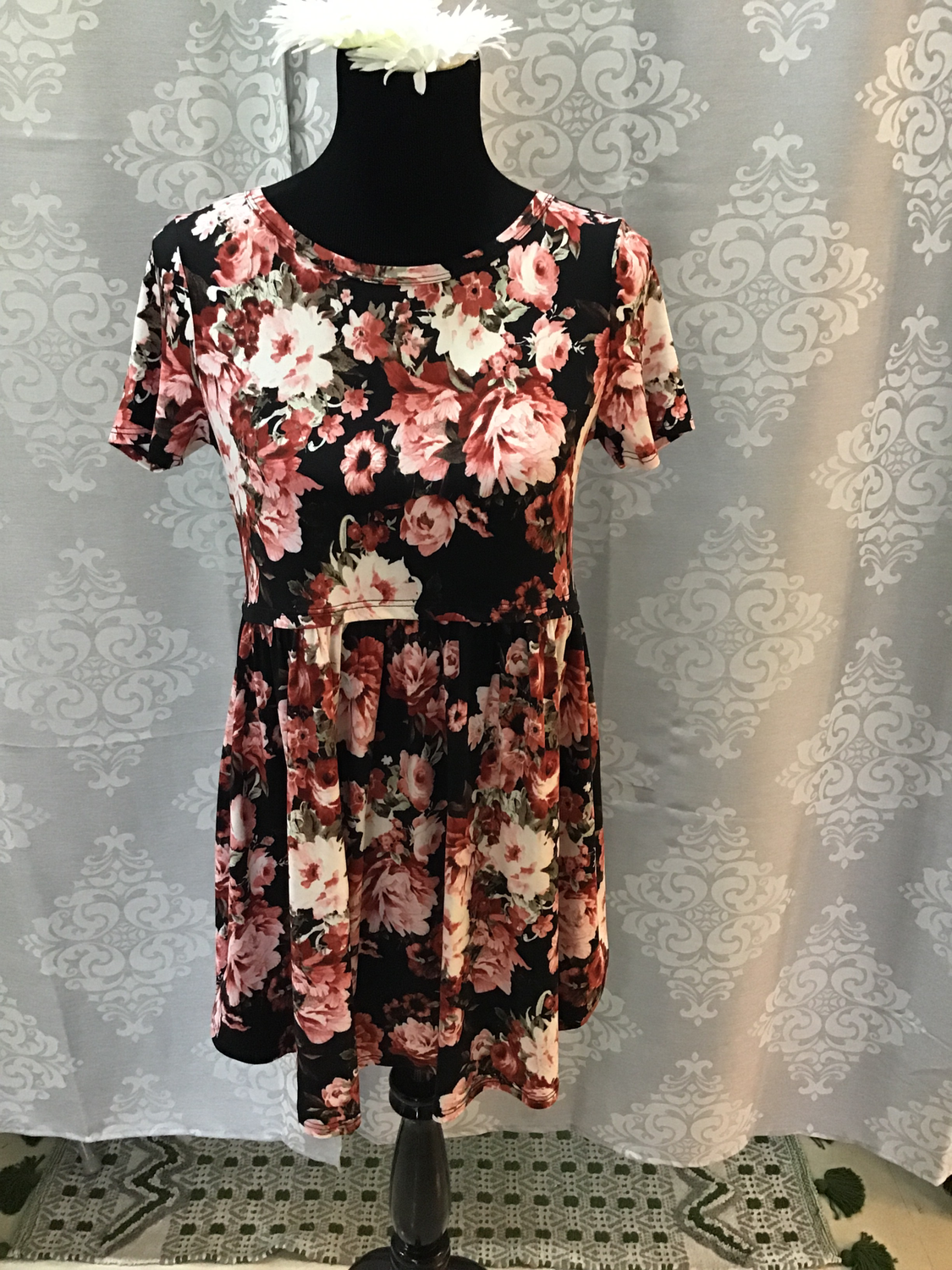 Baby doll floral shirt