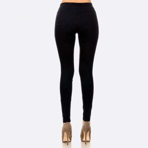 Black jegging