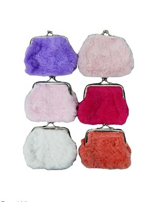 Fuzzy coin purse