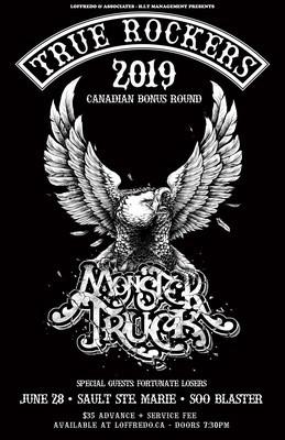 Monster Truck - Live In Sault Ste. Marie at Soo Blaster - June 28
