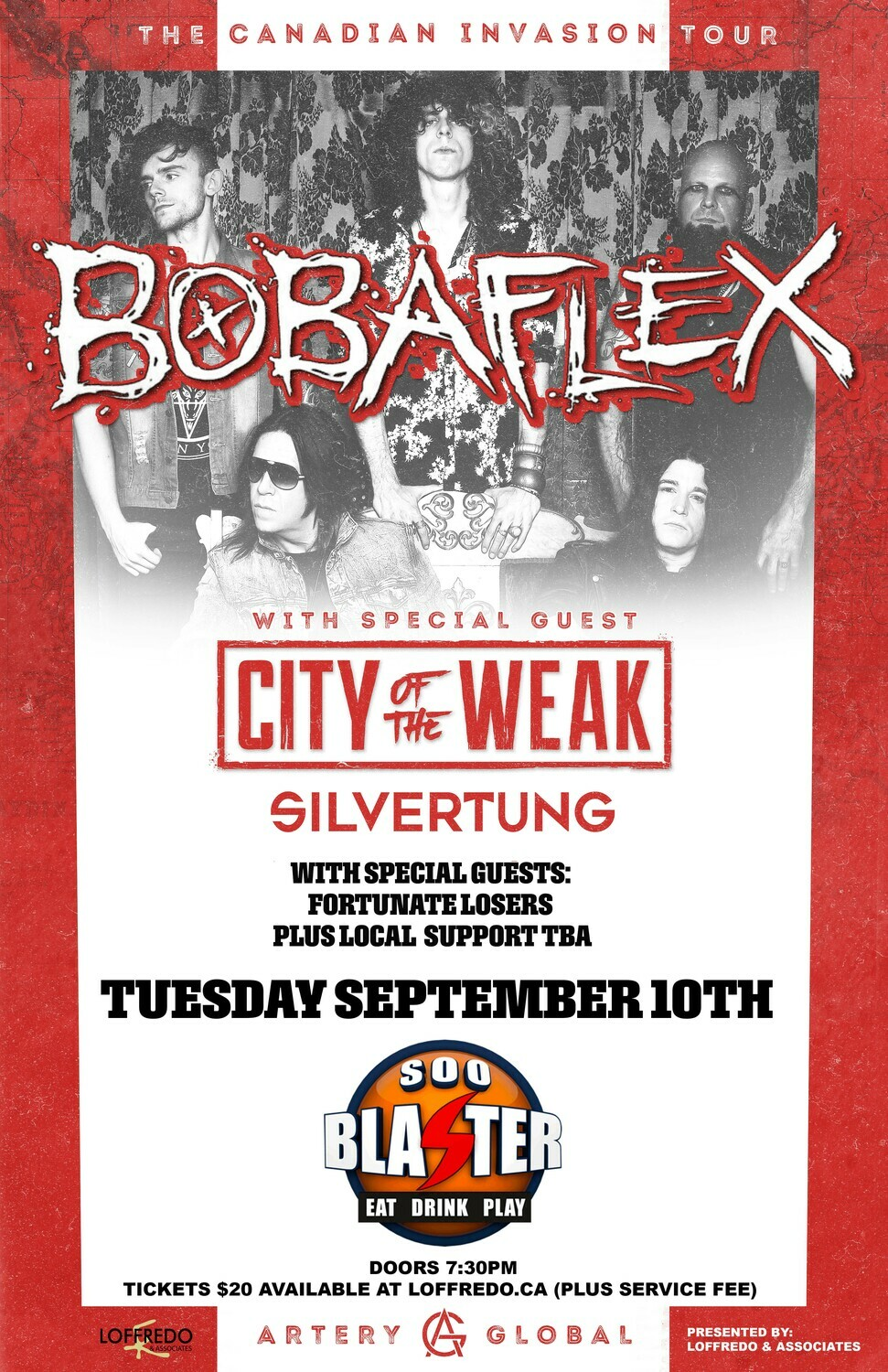 Bobaflex - Live In Sault Ste. Marie at Soo Blaster - Sept 10