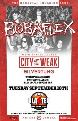 Bobaflex - Live In Sault Ste. Marie at Soo Blaster - Sept 10