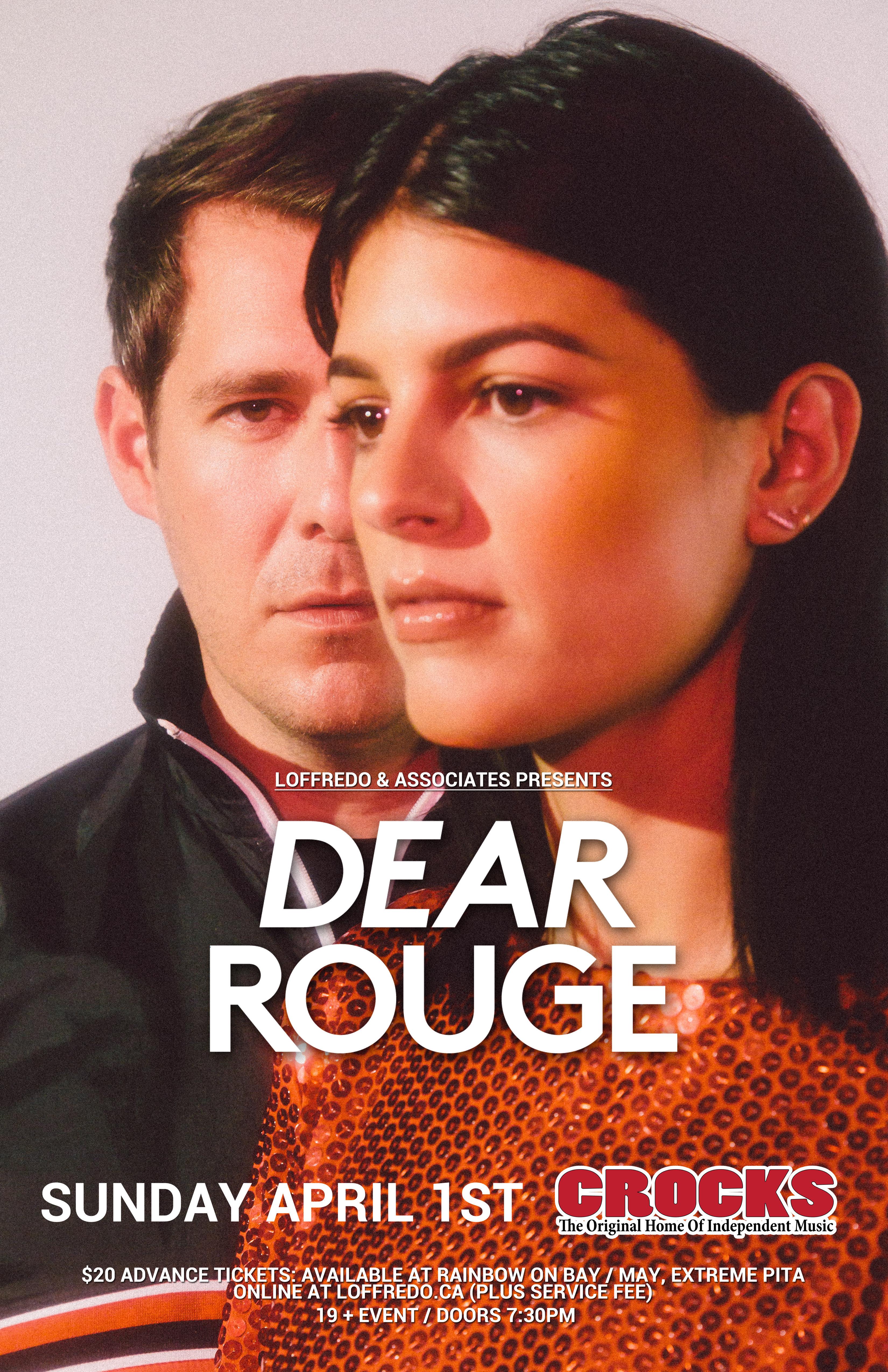 Dear Rouge - Live in Concert - Crocks -  April 1st, 2018 00251