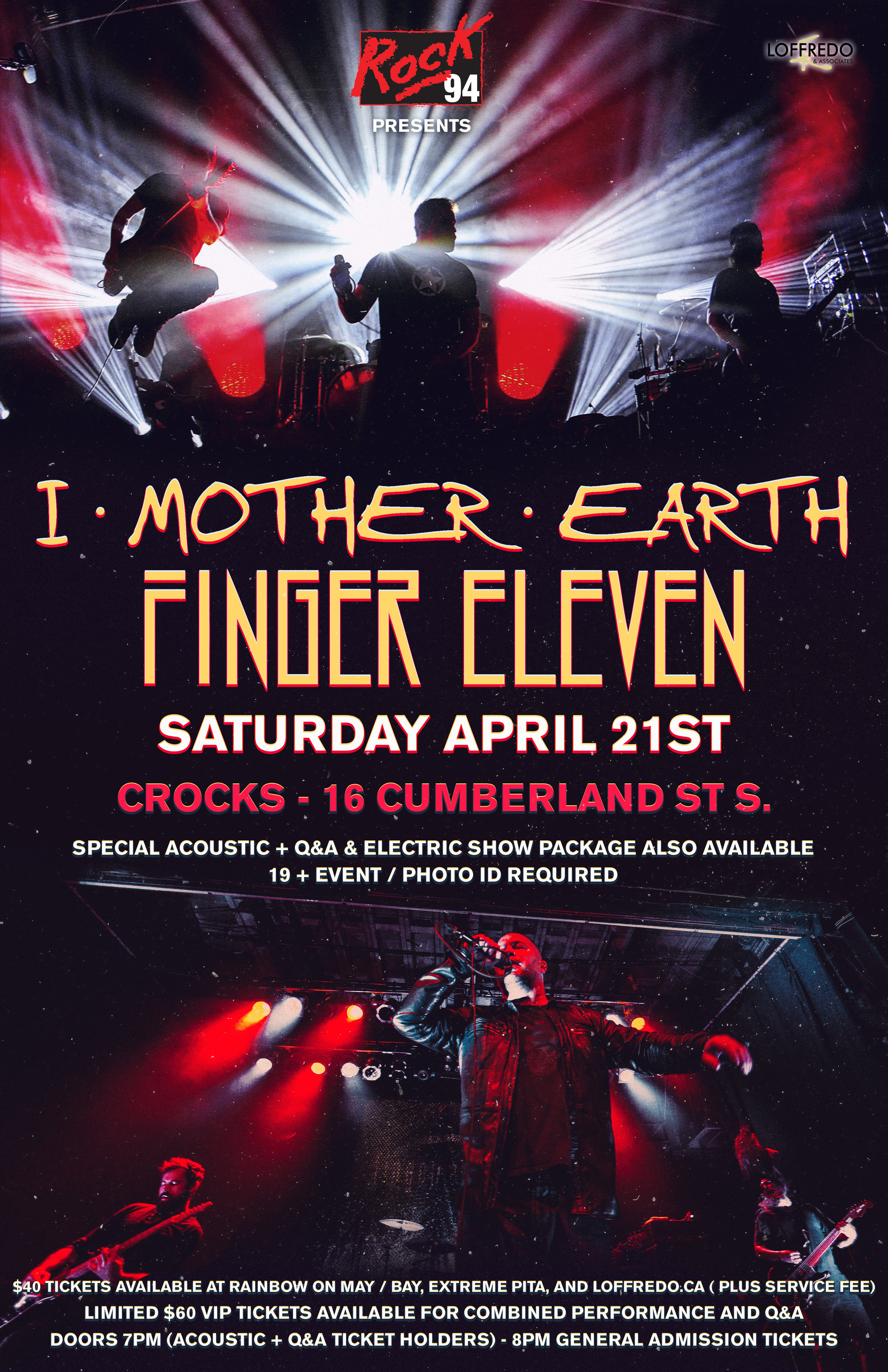 I Mother Earth & Finger 11 - Saturday April 21st, 2018 (General Admission) 00256