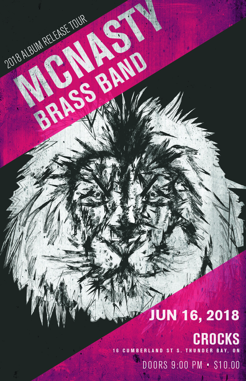 McNasty Brass Band - June 16th at Crocks 00272
