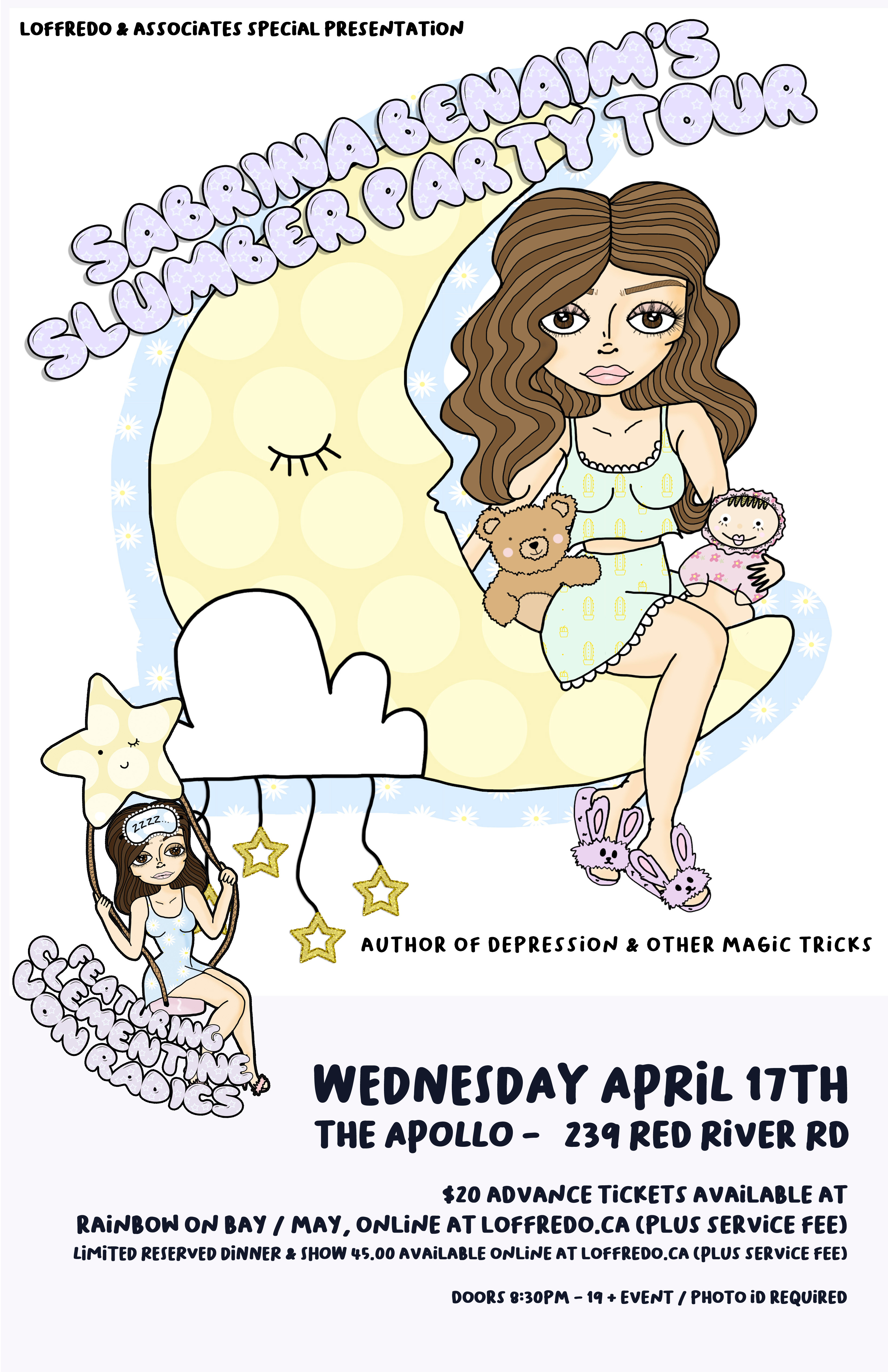 Sabrina Benaim - The Slumber Party Tour - April 18th at Urban Abbey 00285