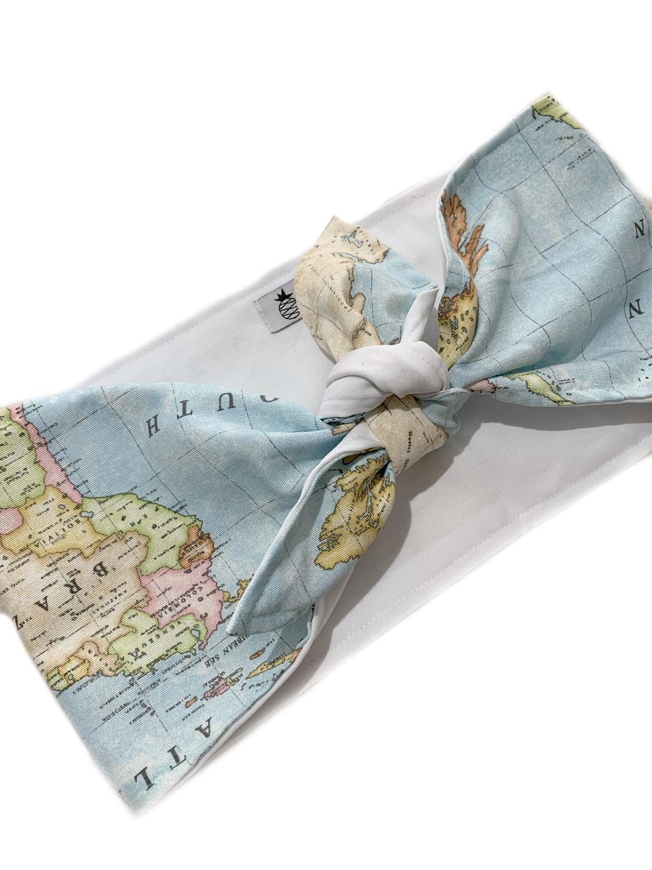 Top anudado mapa celeste