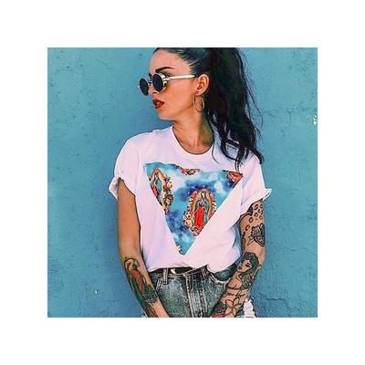 Camiseta Guadalupe blanca
