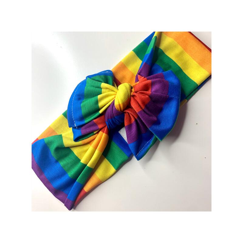 Turbante arcoíris